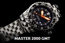 MASTER 2000 GMT AUTOMATIC