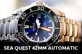 SEA QUEST 42MM DIVER - AUTOMATIC