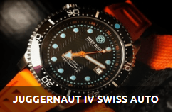 JUGGERNAUT IV SWISS AUTOMATIC DIVER