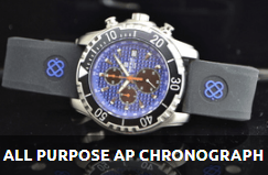 AP CHRONOGRAPH ALL PURPOSE QUARTZ DIVER BLUE