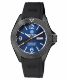 DEFENDER 1000 44MM AUTOMATIC PVD CASE DARK BLUE SUNRAY DIAL_