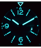 DEFENDER 1000 44MM AUTOMATIC PVD CASE LIGHT BLUE SUNRAY DIAL_