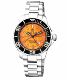 DAYNIGHT RECON GMT 2893 SWISS AUTOMATIC TRITIUM T-100 ORANGE DIAL_