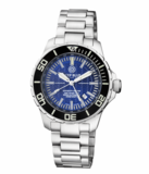 DAYNIGHT RECON GMT 2893 SWISS AUTOMATIC TRITIUM T-100 DARK BLUE DIAL_