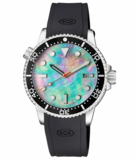 MASTER 1000 II 44MM AUTOMATIC DIVER BLACK CERAMIC BEZEL -PLATINUM MOTHER OF PEARL DIAL_