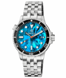 MASTER 1000 II 44MM AUTOMATIC DIVER BLACK CERAMIC BEZEL -BLUE ABALONE DIAL_