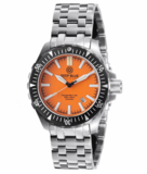 DAYNIGHT MIL T100 TRITIUM GREEN FLAT TUBES -ORANGE DIAL_