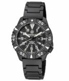 DAYNIGHT DIVER PC TRITIUM WATCH BLACK/WHITE BEZEL - BLACK DIAL_