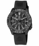 DAYNIGHT DIVER PC TRITIUM WATCH STEALTH BEZEL - BLACK DIAL_