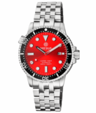 MASTER 1000 II 44MM AUTOMATIC DIVER BLACK CERAMIC BEZEL -RED SUNRAY DIAL_