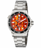 MASTER 1000 II 44MM AUTOMATIC DIVER BLACK CERAMIC BEZEL -ORANGE ABALONE DIAL_