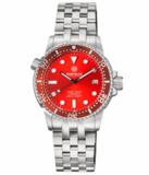 MASTER 1000 II 44MM AUTOMATIC DIVER RED CERAMIC BEZEL -RED SUNRAY DIAL_