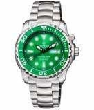PRO SEA DIVER 1000M BRACELET GREEN BEZEL GREEN DIAL BLACK HANDS_