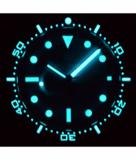 MASTER 1000 II 44MM AUTOMATIC DIVER BLACK CERAMIC BEZEL – CHECKERBOARD PATTERN BLUE SECOND HAND STRAP_