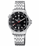 DIVER 1000 II 40MM AUTOMATIC DIVER BLACK CERAMIC BEZEL – BLACK GLOSSY DIAL RED SECOND HAND_