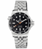 DIVER 1000 II 40MM AUTOMATIC DIVER BLACK CERAMIC BEZEL – BLACK GLOSSY DIAL ORANGE SECOND HAND_