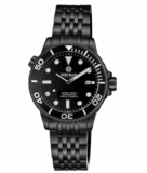 DIVER 1000 II 40MM AUTOMATIC DIVER BLACK CERAMIC BEZEL - BLACK DIAL-BLACK SECOND HAND -PVD CASE_