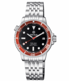 DIVER 1000 II 40MM AUTOMATIC DIVER RED CERAMIC BEZEL –BLACK GLOSSY DIAL_