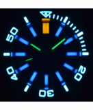 MASTER 2000 DAYNIGHT T-100 TRITIUM SWISS AUTOMATIC DIVER BLUE BEZEL – DARK BLUE DIAL SS CASE_