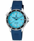 MASTER 1000 II 44MM AUTOMATIC DIVER BLACK CERAMIC BEZEL – ICE BLUE DIAL STRAP_