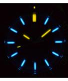 DAYNIGHT DIVER TRITIUM T-100 AUTOMATIC BRACELET – SS BLUE CERAMIC BEZEL BLUE DIAL DIVER_