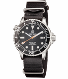 MASTER 1000 AUTOMATIC DIVER BLACK BEZEL -BLACK DIAL-ORANGE MINUTE HAND_