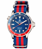 MASTER 1000 AUTOMATIC DIVER BLUE/RED BEZEL -BLUE DIAL_