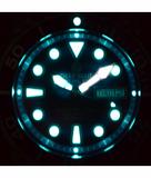 PRO TAC 1000M AUTOMATIC DIVER- SILVER BEZEL BLACK DIAL_