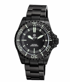 MASTER 2000 SWISS AUTOMATIC DIVER –BLACK-BLACK-PVD BLACK CASE_