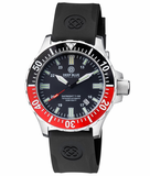 DAYNIGHT TRITDIVER T-100 AUTOMATIC BLACK/RED BEZEL- BLACK DIAL_