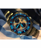 MASTER CHRONO 7750 AUTOMATIC DIVER BLUE – WHITE_