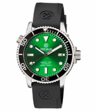MASTER 1000 AUTOMATIC DIVER BLACK BEZEL -GREEN SUNRAY DIAL_