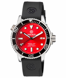 MASTER 1000 AUTOMATIC DIVER BLACK BEZEL -RED SUNRAY DIAL_