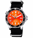 MASTER 1000 AUTOMATIC DIVER BLACK BEZEL -ORANGE SUNRAY DIAL_