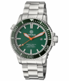 MASTER 1000 2.5 - 60 HOUR POWER RESERVE AUTOMATIC - CERAMIC BEZEL DIVER GREEN BEZEL/GREEN DIAL_