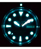 PRO SEA DIVER 1000M BRACELET BLACK/BLUE BEZEL - BLACK DIAL 15/30/45_