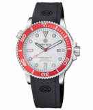 MASTER 1000 USA AUTOMATIC DIVER RED BEZEL -WHITE DIAL_
