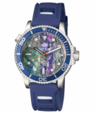 MASTER 1000 AUTOMATIC DIVER BLUE BEZEL -LARGE ABALONE SHELL DIAL_