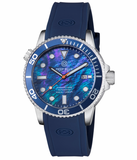 MASTER 1000 AUTOMATIC DIVER BLUE BEZEL -BLUE MOTHER OF PEARL DIAL_