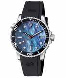MASTER 1000 AUTOMATIC DIVER BLACK BEZEL -PLATINUM MOTHER OF PEARL DIAL_