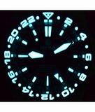 MASTER 2000 GMT AUTOMATIC DIVER- ETA 2893-2 SWISS MADE MOVEMENT BLACK/BLUE BEZEL – ORANGE GMT HAND_