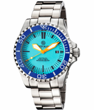 MASTER 2000 SWISS AUTOMATIC DIVER BLUE-ORANGE-FULL LUME DIAL_