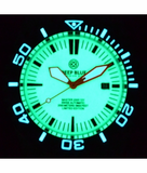 MASTER 2000 SWISS AUTOMATIC DIVER BLUE-ORANGE-FULL LUME DIAL_