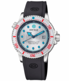 JUGGERNAUT IV USA SWISS AUTOMATIC – DIVER #2 WHITE/RED BEZEL - WHITE DIAL BRACELET_