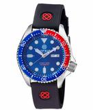 NATO DIVER 300 AUTOMATIC – SS DIVER RED/ BLUE BEZEL-BLUE DIAL_