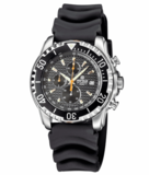 AP CHRONOGRAPH ALL PURPOSE QUARTZ DIVER BLACK DIAL_