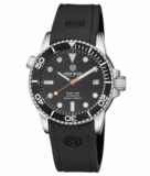 DIVER 1000 AUTOMATIC DIVER BLACK BEZEL -BLACK DIAL-ORANGE SECOND HAND_