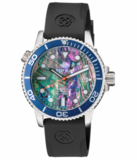 DIVER 1000 AUTOMATIC DIVER BLACK BEZEL BLACK MOTHER OF PEARL DIAL_