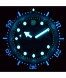JUGGERNAUT IV SWISS AUTOMATIC – DIVER BLACK BEZEL BLUE DIAL_