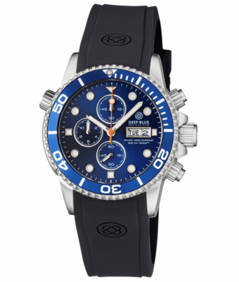 DIVER 1000 QUARTZ CHRONOGRAPH DIVER DARK BLUE BEZEL DARK BLUE DIAL